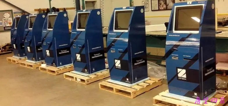 华克金提款机CTM(数字资产ATM机)亮相中国