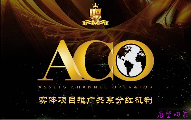 ACO实体项目推广共享分红机制