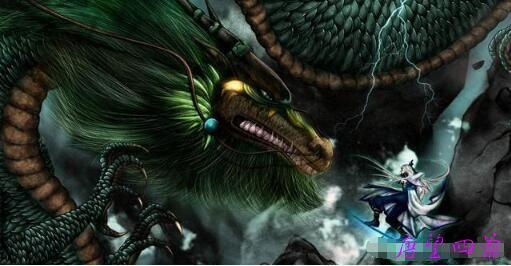 杀掉天将的黑蛟龙躲了九千年的佩霖
