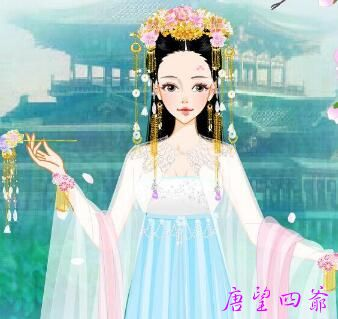 仙女借白桦树精基因成女神