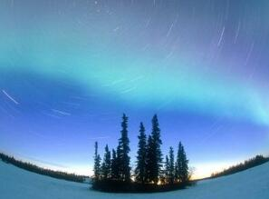 半夜的北极