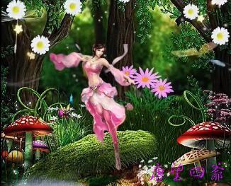 掌握花世界的精灵公主