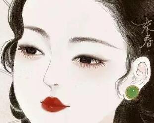 柳叶眉眼才能勾魂